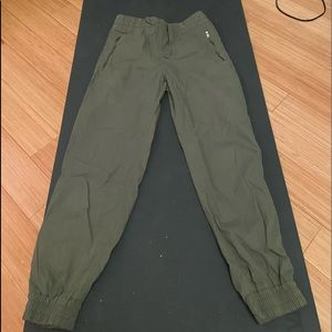 TNA green cargo pants!